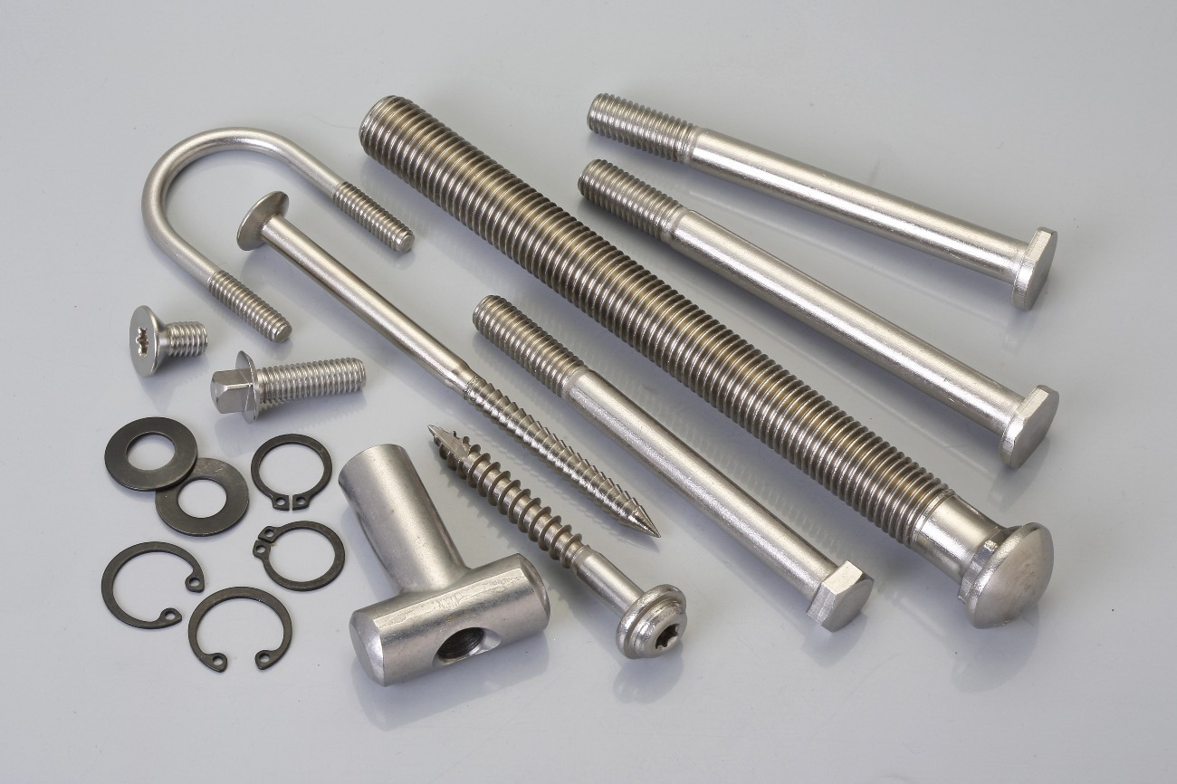 how to clean stainless steel bolts