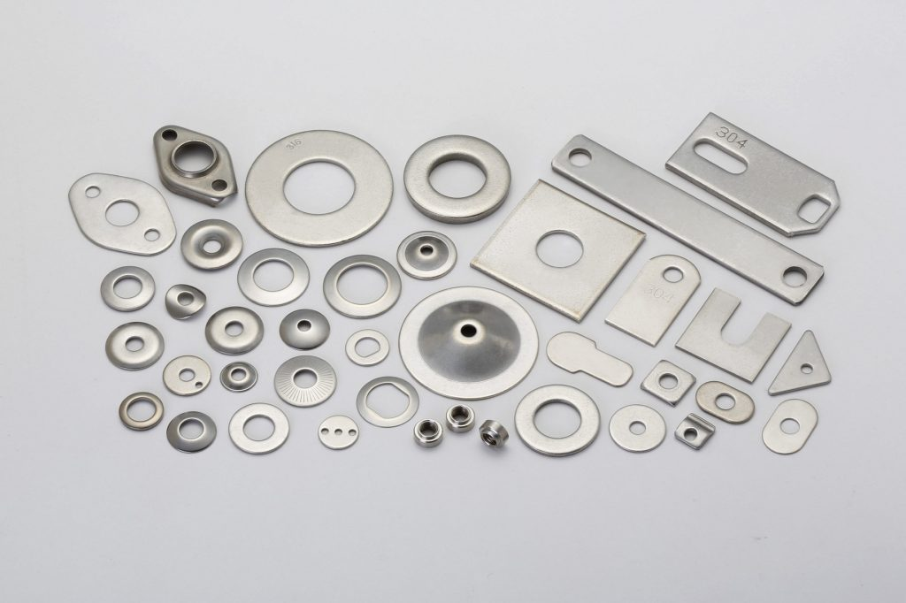 Stainless Steel Washers, Nuts, Stamping Parts